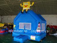 Inflatable spongebob castle