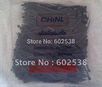 6'' Black Nylon Cable ties,500pcs/bag 4.0*150 mm