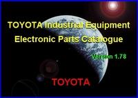 2013 new Toyota Industrial Equipment  PARTS CATALOGUE v1.78