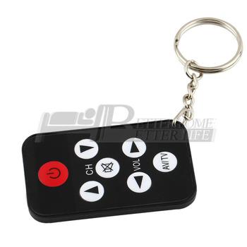 100% Brand New Mini Universal  TV Remote Control Keychain YKS
