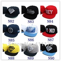 2012 designer diamond&OBEY&LK&cartoon baseball caps and hats snapback fitted 3 free shipping