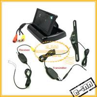 4.3  inch Rear View System Car Reversing Monitor + Wireless Night Vision Car Reverse Backup Camera