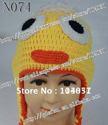 Free shipping (10/lot )100% cotton CROCHET Beanie PATTERN - Preemie to Adults Sizes Included - custom to order(China (Mainland))