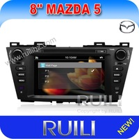 Mazda 5  Car GPS Navigation DVD Player  With Radio TV Bluetooth Audio Video Stereo System