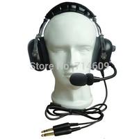 Aviation headset Noise cancelling  /headpset PNR/pilot  headset/fly aviation headset
