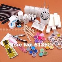 Manicure set for Nail Art UV Gel kit 2014 New Free Shipping