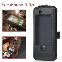 Free shippping Waterproof case holder on bike for iPhone 4/4S Bicycle holder Convenient holder
