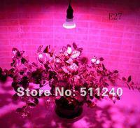 Hot sale red&blue plant grow led lights 60 LED's E27 Lighthouse Compensation