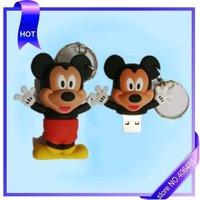 free shipping   10pcs/lot  nice mouse usb flash drive usb 2.0  usb memory