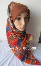 wholesale plain square scarf