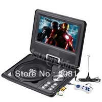 "7.5"" Portable DVD Player TFT LCD SCREEN SD USB TV MP3 MP4 Multifunction FM AVI"
