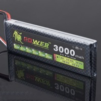 Super power 25C 3000mAh 7.4V 2S accumulator li polymer lipos accar akku battery lipo packs batteria rc batteries free shipping