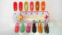 Free shipping emiie one step gel polish (1lot=12pcs)