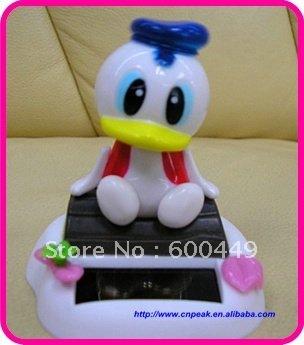 Flip Flap solar nodding head animal toys 10pcs/lot