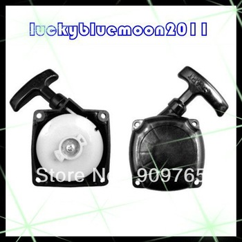 New 33cc 36cc 43cc 49cc 2stroke Gas Scooter Pocket Bike Pull Start Starter Black