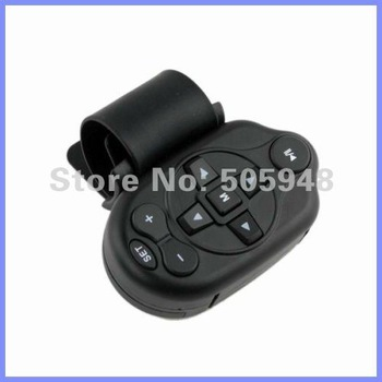 Infrared Steering Wheel Remote Control for Car DVD Player With Ergonomic Design Free Shipping