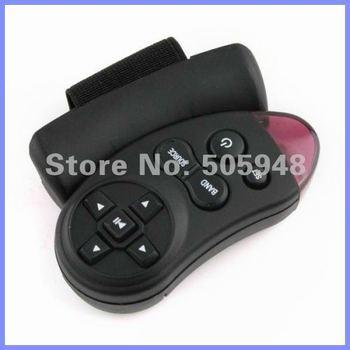 Brand New Black Car Universal Steering Wheel Remote Control Ergonomic Design Free Shipping