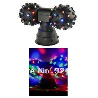 Free shipping double heads led magic ball stage effect disco ball
