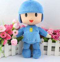 10inch 25cm New bandai plush Pocoyo Soft Plush Stuffed Figure Toy