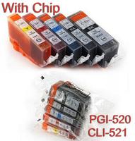 5 ink cartridges for Canon Pixma MP540/MP550/MP560/MP620/MP630/MP640/MP980/MP990/MX860/MX870/IP3600/IP4600/IP4700