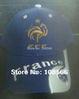 France national football team adult casual cap /  visor outdoor baseball cap    2 colour (bule /  white)