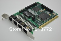 NEW Free shipping TE405P 4 port ISDN PRI card \ asterisk card
