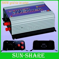 DHL free shipping!  500w wind grid tied inverter with wind controller 3phase input  AC 10.8V-30V output.AC 90V-140V,190V-260V