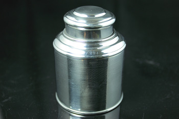 Tin Canister, 100g Tea Capacity( (Super airtight, thick tin material)