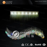 2012 fashionable design , modern crystal chandelier  ,modern pendant lamp free shipping  OM711-75