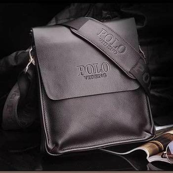 2015 New Arrive famous brand Italian design genuine leather men bag fashion men messenger bag bussiness bag  A53