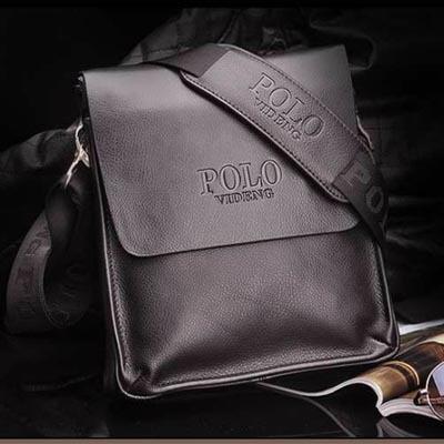 2015 New Arrive famous brand Italian design genuine leather men bag fashion men messenger bag bussiness bag A53(China (Mainland))