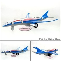Jetliner airplane aircraft colorful baby alloy model free air mail