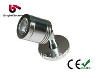 Free Shipping 1W 3W LED Cabinet Light, Brightness LED Cabinet Lamp, Cabinet Light LED