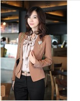 New style women's Fashion elegant Slim coat jackets Free Shipping Hot sale