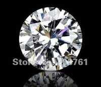 wholesale/retail synthetic moissanite diamonds,1.0carat loose diamond 6.5mm ,VVS1 white color ,Sepcial nude dnll,Free Shipping