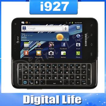 i927 Original Samsung  i927 Captivate Glide Qwerty Keyboard GPS WIFI 3G 8MP Camera Dual Core Mobile Phone  Refurbished