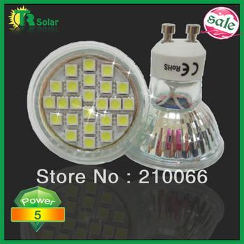 Freeshipping 20pcs/lot AC220-240V new type 5w SMD5050 GU10/MR16/E27/E14 Glass Spot light flashlights bulb CE RoHS
