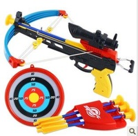 super cool marksman bow and arrow combination simulation sports toys interesting kids outdoor 3 in 1 weapons toy + free shipping