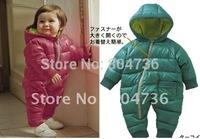 free shipping kit romper baby winter romper