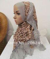 FREE SHIPPING,patchwork shawl,animal printed scarf,women,s scarf,muslim hijab,2012 new design,45*180cm,fashion ladies shawl