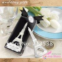 2013 DHL FREE SHIPPING wedding favors wedding/decoration/bridal favors  La Tour Eiffel Chrome Bottle Opener