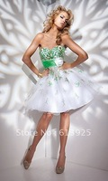 Free Shipping Strapless Sweetheart Homecoming Dress 21104-1 Wedding Dresses Evening/Prom/Homecoming Quinceanera Dresses