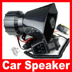 High Quality Alarm Car Motorcycle Loudspeaker Horn Alarm 80w pa Professional Speaker Alarm Siren Free Shipping(China (Mainland))