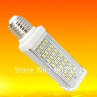 13w Sample lamp E27/G24 28SMDs 5630 LED PL Light Bulb Warm/Pure White AC 110-240V