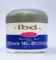 3 Colurs IBD UV Builder Gel Nail Art Gel Clear  Ultra White  Pink 56g  3 PCS High-Quality Goods Freeshiping