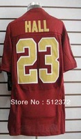 Free Shipping!!! 2012 new style #23 DeAngelo Hall 80th Season Anniversary red jersey