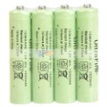 Free Shipping 4Pcs/Set UltraFire AAA 1.2V 1500mAh Ni-MH Rechargeable Battery 88008517