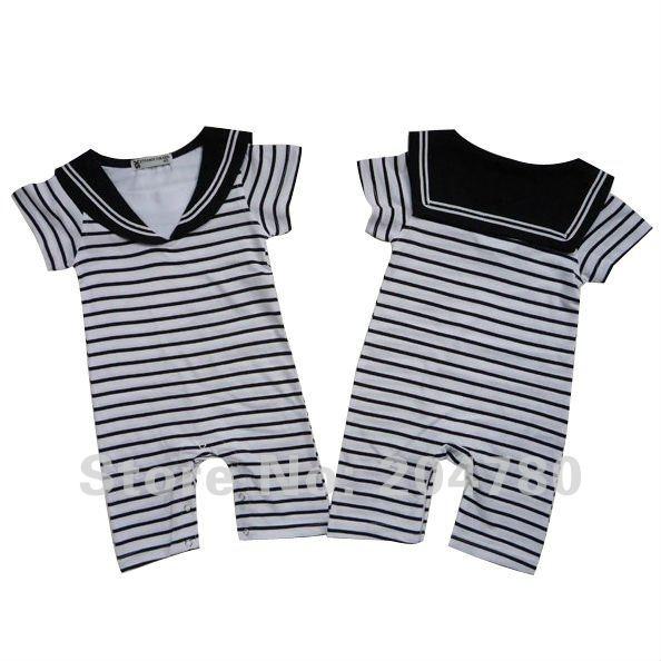 Baby romper infant rompers boy s girl s wear stripes baby