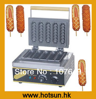 Hot Sale 110V/220V Commercial Use Electric Lolly Waffle on a Stick Maker Machine