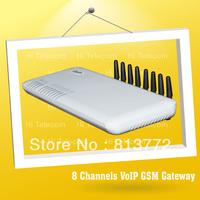 8channel GSM gateway \ DBL 8-Channels GSM VoIP Gateway (GOIP_8) skype phone